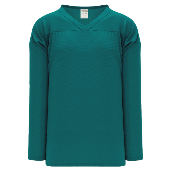 Athletic Knit (AK) H6000A-027 Adult Pacific Teal Practice Hockey Jersey