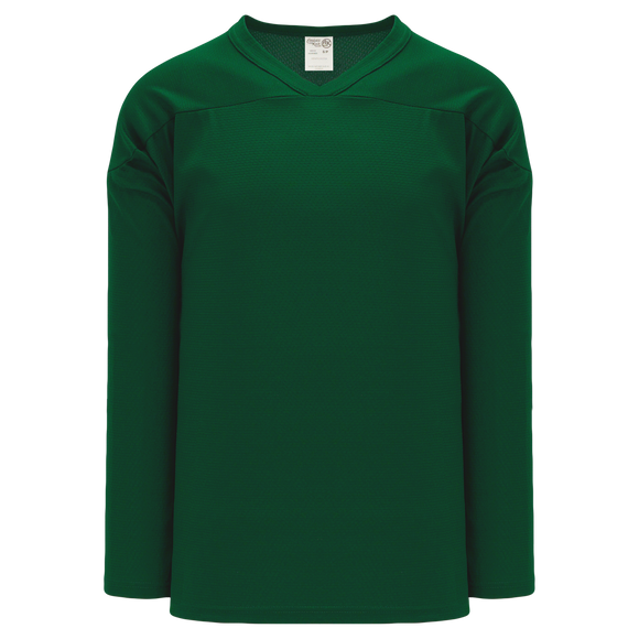 Athletic Knit (AK) H6000A-029 Adult Dark Green Practice Hockey Jersey