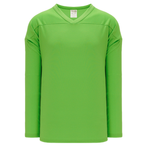 Athletic Knit (AK) H6000-031 Lime Green Practice Hockey Jersey