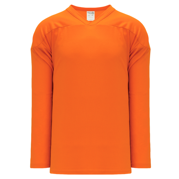 Athletic Knit (AK) H6000A-064 Adult Orange Practice Hockey Jersey