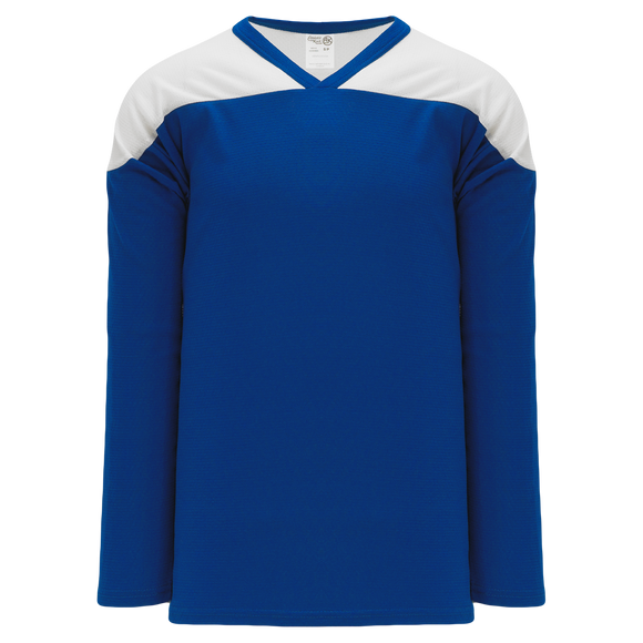 Athletic Knit (AK) H6100 Royal Blue/White League Hockey Jersey