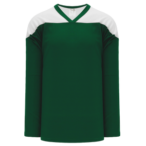 Athletic Knit (AK) H6100-260 Dark Green/White League Hockey Jersey