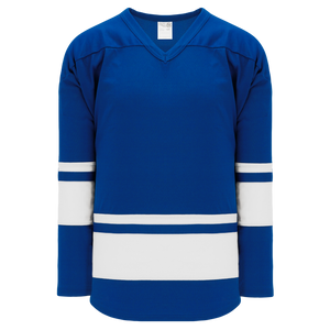 Athletic Knit (AK) H6400-206 Royal Blue/White League Hockey Jersey