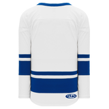 Athletic Knit (AK) H6400A-207 Adult White/Royal Blue League Hockey Jersey