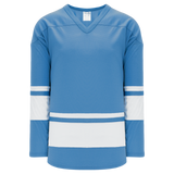 Athletic Knit (AK) H6400A-227 Adult Sky Blue/White League Hockey Jersey