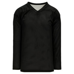 Athletic Knit (AK) H686-221 Black/White Reversible Practice Hockey Jersey