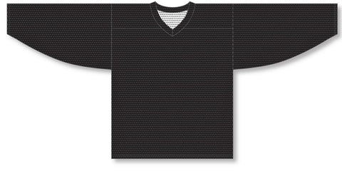 Athletic Knit (AK) H686 Black/White Reversible Practice Hockey Jersey - PSH Sports