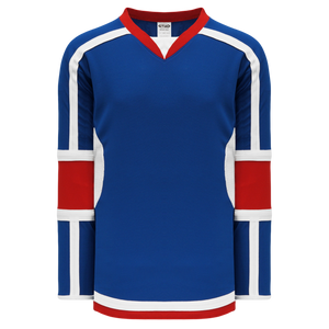 Athletic Knit (AK) H7000A-333 Adult Royal Blue Select Hockey Jersey