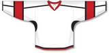 Athletic Knit (AK) H7000 White Select Hockey Jersey - PSH Sports