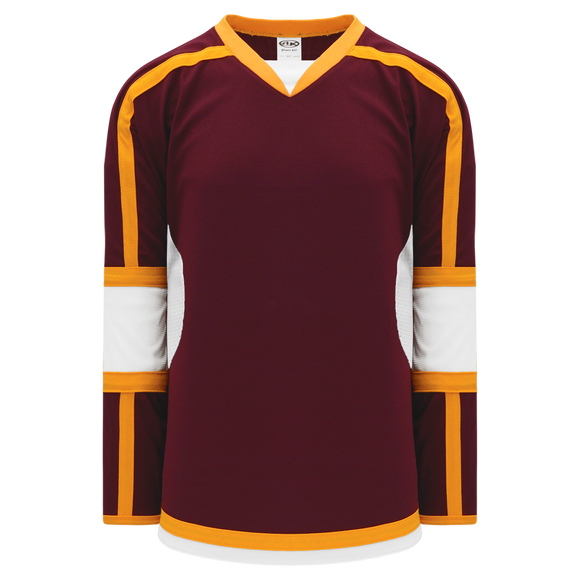 Athletic Knit (AK) H7000 Maroon Select Hockey Jersey