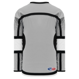 Athletic Knit (AK) H7000A-973 Adult Grey Select Hockey Jersey