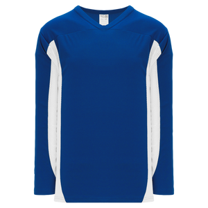 Athletic Knit (AK) H7100A-206 Adult Royal Blue/White Select Hockey Jersey