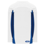 Athletic Knit (AK) H7100A-207 Adult White/Royal Blue Select Hockey Jersey