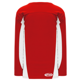 Athletic Knit (AK) H7100A-208 Adult Red/White Select Hockey Jersey