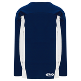 Athletic Knit (AK) H7100-216 Navy/White Select Hockey Jersey