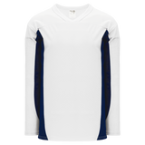 Athletic Knit (AK) H7100-217 White/Navy Select Hockey Jersey