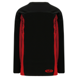 Athletic Knit (AK) H7100-249 Black/Red Select Hockey Jersey
