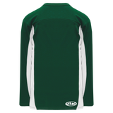 Athletic Knit (AK) H7100A-260 Adult Dark Green/White Select Hockey Jersey
