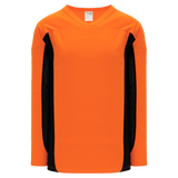 Athletic Knit (AK) H7100-263 Orange/Black Select Hockey Jersey