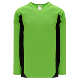 Athletic Knit (AK) H7100A-269 Adult Lime Green/Black Select Hockey Jersey