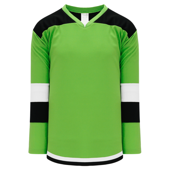 Athletic Knit (AK) H7400Y-107 Youth Lime Green Select Hockey Jersey