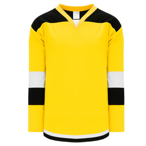 Athletic Knit (AK) H7400A-256 Adult Maize Select Hockey Jersey