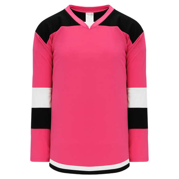 Athletic Knit (AK) H7400A-272 Adult Pink Select Hockey Jersey