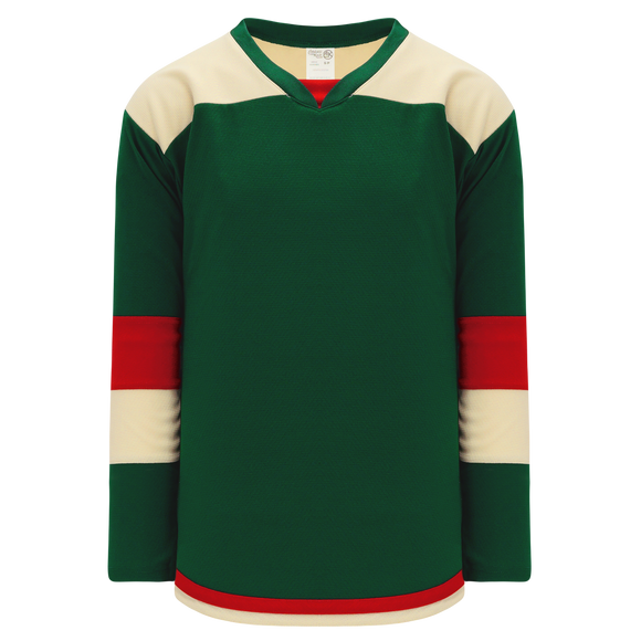Athletic Knit (AK) H7400Y-277 Youth Dark Green Select Hockey Jersey
