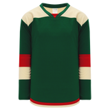 Athletic Knit (AK) H7400-277 Dark Green Select Hockey Jersey