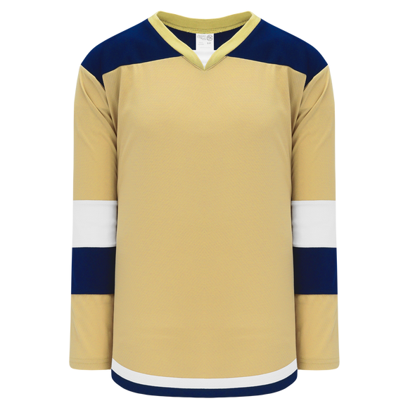 Athletic Knit (AK) H7400Y-283 Youth Vegas Gold Select Hockey Jersey