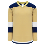 Athletic Knit (AK) H7400A-283 Adult Vegas Gold Select Hockey Jersey