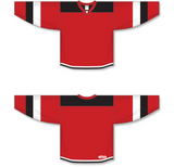 Athletic Knit (AK) H7400 Red Select Hockey Jersey - PSH Sports