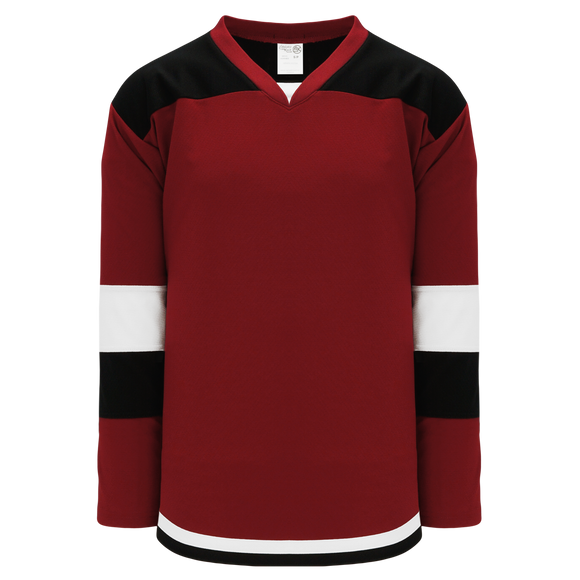 Athletic Knit (AK) H7400Y-426 Youth AV Red Select Hockey Jersey