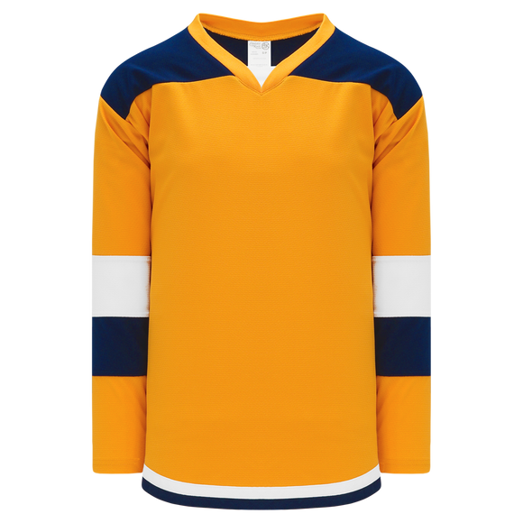 Athletic Knit (AK) H7400Y-431 Youth Gold Select Hockey Jersey