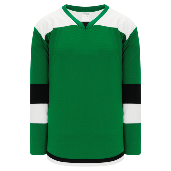 Athletic Knit (AK) H7400Y-440 Youth Kelly Green Select Hockey Jersey