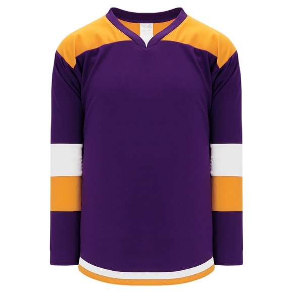 Athletic Knit (AK) H7400A-441 Adult Purple Select Hockey Jersey