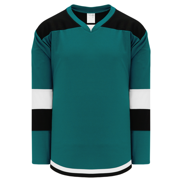 Athletic Knit (AK) H7400Y-457 Youth Pacific Teal Select Hockey Jersey