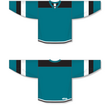 Athletic Knit (AK) H7400 Pacific Teal Select Hockey Jersey - PSH Sports