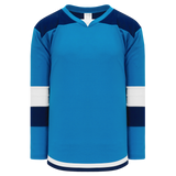 Athletic Knit (AK) H7400-468 Pro Blue Select Hockey Jersey