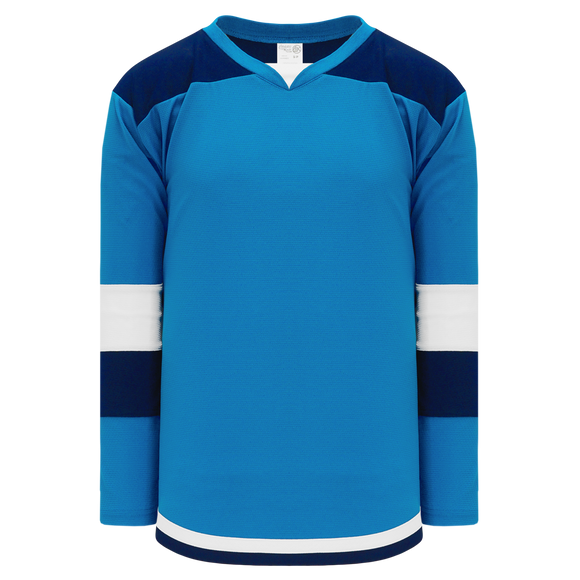 Athletic Knit (AK) H7400Y-468 Youth Pro Blue Select Hockey Jersey