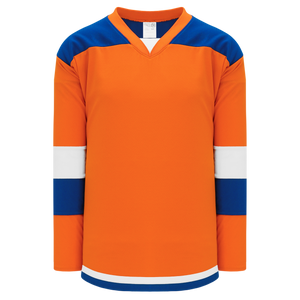 Athletic Knit (AK) H7400-483 Orange Select Hockey Jersey