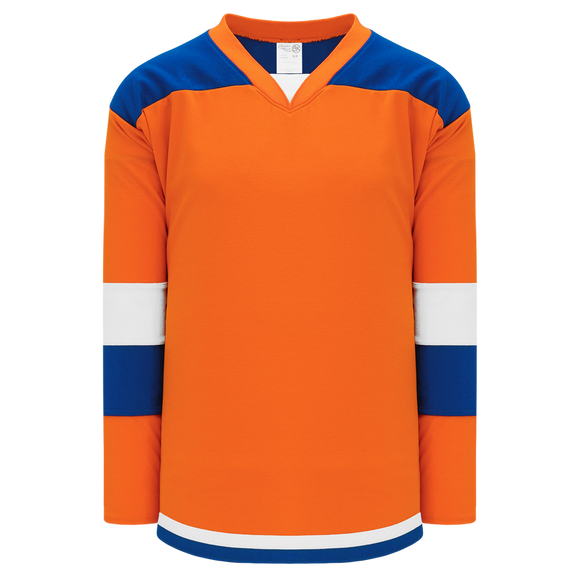 Athletic Knit (AK) H7400Y-483 Youth Orange Select Hockey Jersey