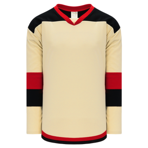 Athletic Knit (AK) H7400A-546 Adult Sand Select Hockey Jersey