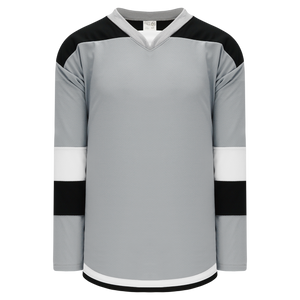 Athletic Knit (AK) H7400-973 Grey Select Hockey Jersey