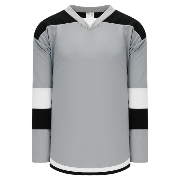 Athletic Knit (AK) H7400Y-973 Youth Grey Select Hockey Jersey