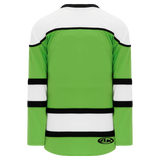 Athletic Knit (AK) H7500-107 Lime Green Select Hockey Jersey