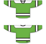 Athletic Knit (AK) H7500 Lime Green Select Hockey Jersey - PSH Sports
