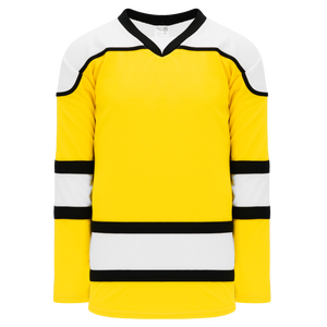Athletic Knit (AK) H7500-256 Maize Select Hockey Jersey
