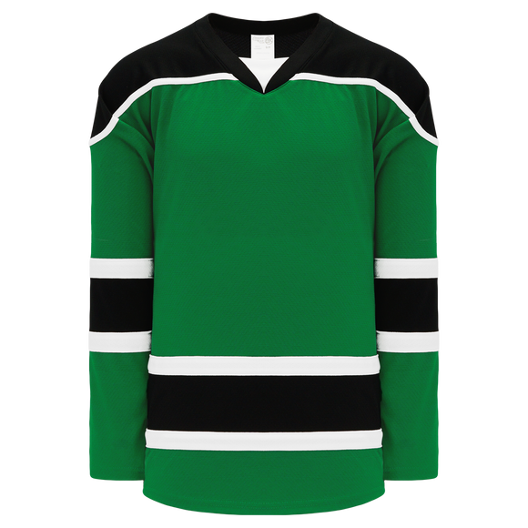Athletic Knit (AK) H7500A-440 Adult Kelly Green Select Hockey Jersey