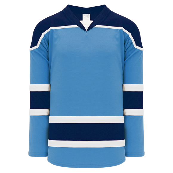 Athletic Knit (AK) H7500A-475 Adult Sky Blue Select Hockey Jersey
